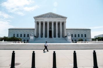 News - The US Supreme Court backed president Trump (Photo by Michael A. McCoy/Getty Images)