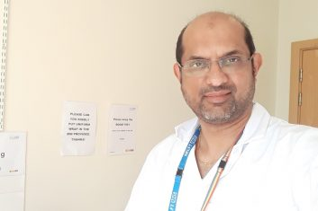 HEADLINE STORY - GRATEFUL: Dr Mohan Bhat is a consultant old age psychiatrist in Dagenham, east London
