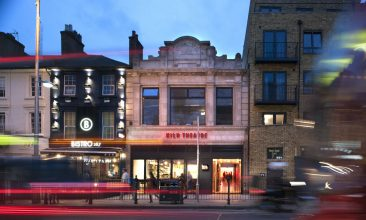 Arts and Culture - Exterior of Kiln Theatre. (image by Philip Vile)