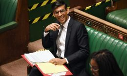 HEADLINE STORY - Rishi Sunak reacts during question period to the Chancellor of the Exchequer in London, Britain July 7, 2020. (UK Parliament/Jessica Taylor/Handout via REUTERS)