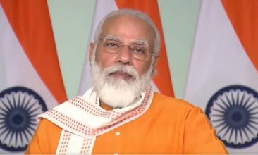 Ayodhya - Indian prime minister Narendra Modi (Photo: Twitter)