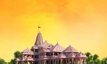 Ayodhya - The proposed Ram temple in Ayodhya (Photo: Twitter)