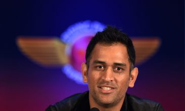 CRICKET - MS Dhoni first caught the eye playing in the annual Sheesh Mahal tournament (SAJJAD HUSSAIN/AFP via Getty Images)