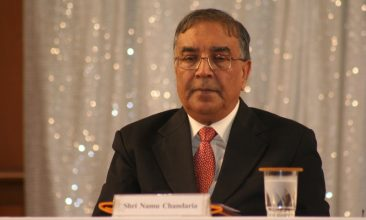 News - Nemubhai Chandaria  OBE, co-ordinator of OneJAIN