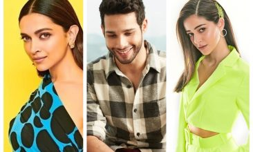 Entertainment - Deepika Padukone, Siddhant Chaturvedi and Ananya Panday