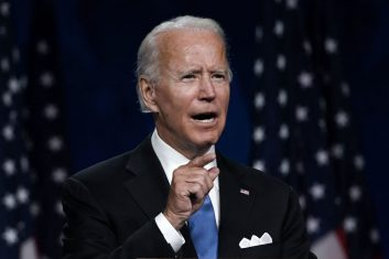 """News - Democratic presidential nominee Joe Biden  makes it a point to tell Indian-Americans and Indian delegates that he, too, has an """"India connection"""", however, distant that might be.  (Photo: OLIVIER DOULIERY/AFP via Getty Images)"""