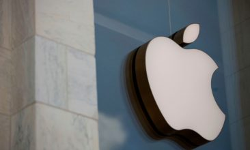 Business - FILE PHOTO: The Apple logo is seen outside the Apple Store in Washington, DC, on July 9, 2019. (ALASTAIR PIKE/AFP via Getty Images)