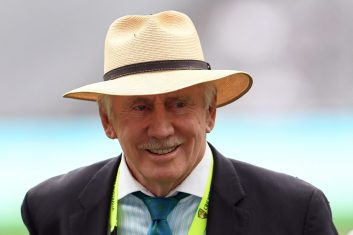 CRICKET - Ian Chappell (WILLIAM WEST/AFP via Getty Images)
