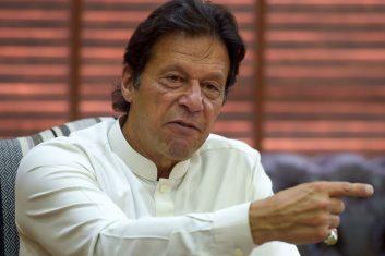 News - FILE PHOTO: Pakistan prime minister Imran Khan.  (AAMIR QURESHI/AFP via Getty Images)