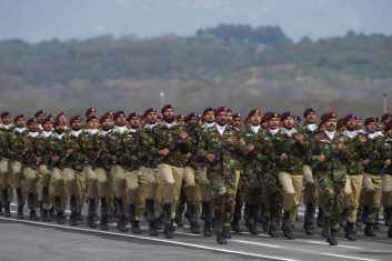 HEADLINE STORY - FILE PHOTO: Pakistan Special Service Group commandos march during the Pakistan Day parade in Islamabad on March 23, 2019. (FAROOQ NAEEM/AFP via Getty Images)