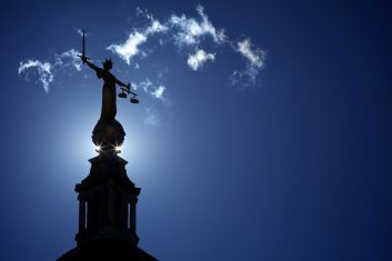 News - Statue of Lady Justice at the Old Bailey London
