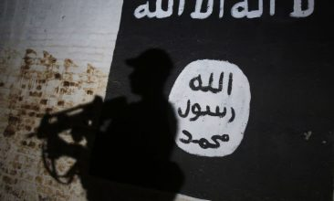 """HEADLINE STORY - Outside Syria and Iraq, the Daesh global web """"now encompasses approximately 20 branches and networks"""". (Photo: AHMAD AL-RUBAYE/AFP via Getty Images)"""