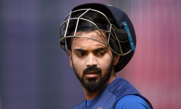 IPL - MANCHESTER, ENGLAND - JULY 08: Lokesh Rahul of India during a net session at Old Trafford on July 08, 2019 in Manchester, England. (Photo by Gareth Copley/Getty Images)
