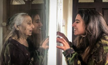 FEATURES - Dadi's love by Simran Janjua is one of 100 portraits chosen to be showcased in the National Portrait Gallery's Hold Still exhibition