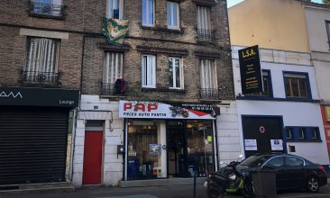 News - A picture taken on September 26, 2020 in Pantin, a suburb of Paris, shows the building, where one of the suspects who seriously wounded two people a day before in a terror attack, was living (first floor, two windows at the center right). (Photo by WAFAA ESSALHI/AFP via Getty Images)