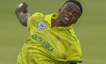 CRICKET - South Africa's Kagiso Rabada (Photo by Christiaan Kotze / AFP)