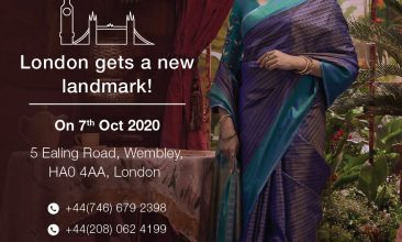 Business - India's Nalli Silks invests £300,000 to open first UK store