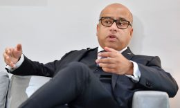 Business - FILE PHOTO: Sanjeev Gupta, head of the GFG (Gupta Family Group) Alliance, speaks during an interview with AFP in London on January 28, 2019. (BEN STANSALL/AFP via Getty Images)