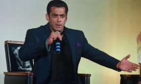 Entertainment - Salman Khan (Photo by: PUNIT PARANJPE/AFP via Getty Images)