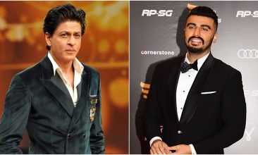 Entertainment - Shah Rukh Khan (Photo by STRDEL/AFP via Getty Images), Arjun Kapoor (Photo by SUJIT JAISWAL/AFP via Getty Images)