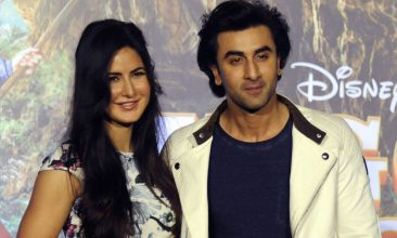 TOP LISTS - Katrina Kaif, Ranbir Kapoor (Photo by AFP via Getty Images)