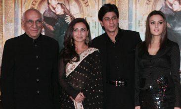 TOP LISTS - Yash Chopra, Rani Mukerji, Shah Rukh Khan, Preity Zinta (Photo by PIERRE ANDRIEU/AFP via Getty Images)