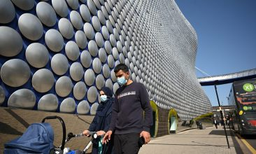 Coronavirus - ACTION AND REACTION: Ethnic minorities in the West Midlands have complied with pandemic rules, mayor Andy Street said (Photo by Oli SCARFF / AFP) (Photo by OLI SCARFF/AFP via Getty Images)