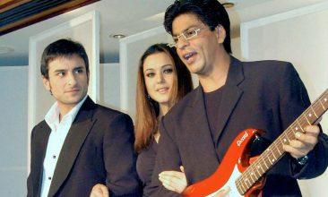 TOP LISTS - Saif Ali Khan, Preity Zinta, Shah Rukh Khan (Photo by STR/AFP via Getty Images)