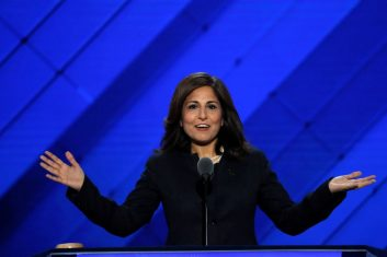 News - FILE PHOTO: Center for American Progress Action Fund president Neera Tanden speaks on the third day of the Democratic National Convention in Philadelphia, Pennsylvania, U.S. July 27, 2016. REUTERS/Mike Segar/File Photo