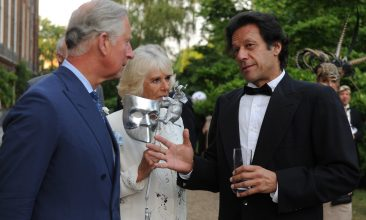 News -  Prince Charles, Prince of Wales and Camilla, Duchess of Cornwall meet with Imran Khan (Photo by Anthony Devlin - WPA Pool/Getty Images)