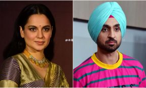 TOP LISTS - Kangana Ranaut, Diljit Dosanjh (Photo by SUJIT JAISWAL/AFP via Getty Images)