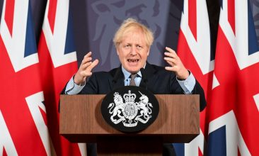 Column - British Prime Minister Boris Johnson (Paul Grover /Pool via REUTERS).