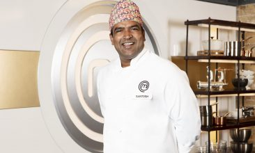 FEATURES - MasterChef finalist Santosh Shah has revealed ambitions to open a Nepalese restaurant in London (Credit: BBC)