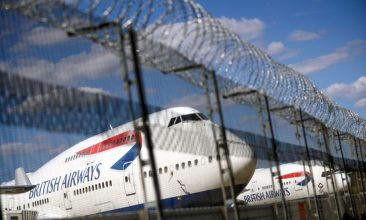 Business - FILE PHOTO: British Airways planes are seen at the Heathrow Airport in London, Britain, July 17, 2020. REUTERS/Hannah McKay/File Photo