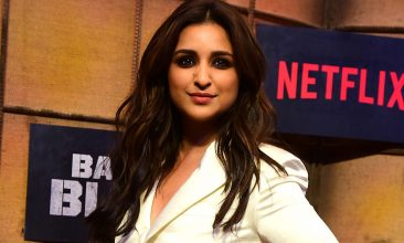 Entertainment - Netflix released Parineeti Chopra's The Girl on the Train last week.    (Photo by SUJIT JAISWAL/AFP via Getty Images)