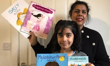 FEATURES - Nine-year-old Amber Zaman and mother Salma say themes of diversity in their books spark excitement among children