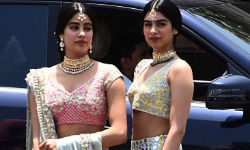 Entertainment - Janhvi Kapoor, Khushi Kapoor (Photo by SUJIT JAISWAL/AFP via Getty Images)