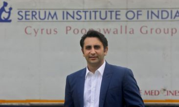 Coronavirus - FILE PHOTO: Adar Poonawalla, Chief Executive Officer (CEO) of the Serum Institute of India poses for a picture at the Serum Institute of India, Pune, India, 30 November 2020. REUTERS/Francis Mascarenhas/File Photo