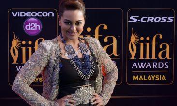 Entertainment - Sonakshi Sinha (Photo credit: MANAN VATSYAYANA/AFP via Getty Images)