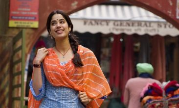 Entertainment - Janhvi Kapoor in the first-look poster of Good Luck Jerry (Image source: Colour Yellow Productions/Instagram)