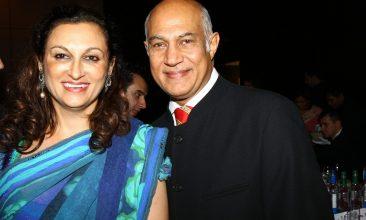Kirit Pathak - Kirit and Meena Pathak at Asian Trader Awards