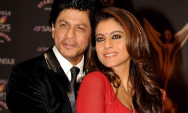 TOP LISTS - Shah Rukh Khan, Kajol (Photo by STR/AFP via Getty Images)
