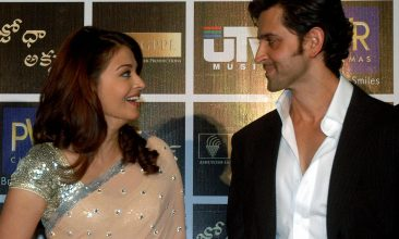 TOP LISTS - Aishwarya Rai Bachchan, Hrithik Roshan (Photo by NOAH SEELAM/AFP via Getty Images)