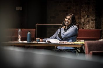 FEATURES - SPECIAL LOVE: Writer Lolita Chakrabarti said Hymn was inspired by the male presence in her life (Photo credit: Marc Brenner)