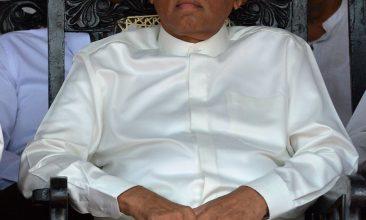 News - FILE PHOTO: Sri Lanka's ex-president Maithripala Sirisena (ISHARA S. KODIKARA/AFP via Getty Images)