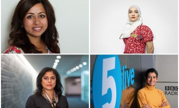 FEATURES - Eastern Eye spoke to several influential women to mark International Women's Day on Monday (from clockwise: Dr Nikita Kanani, Dr Farzana Hussain, Naga Munchetty, Bina Mehta)
