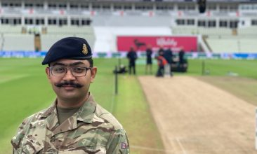 FEATURES - CRUCIAL ROLE: During the Covid-19 crisis, Captain Munish Chauhan has been tasked to help with the Army Recruiting and Initial Training Command (ARITC) Covid-task at Army Training Centre Pirbright (ATC(P))