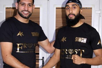 BOXING - Amir Khan and Tal Singh.