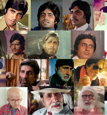 Arts and Culture - The changing faces of Amitabh Bachchan