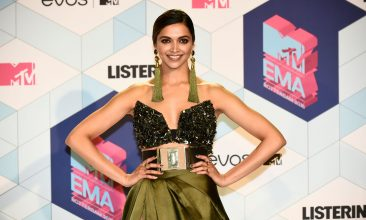 Entertainment - Deepika Padukone (Photo by JOHN THYS/AFP via Getty Images)